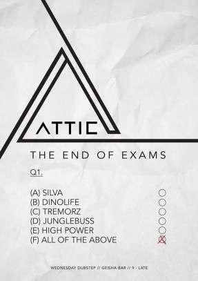 Attic End of Exams_o