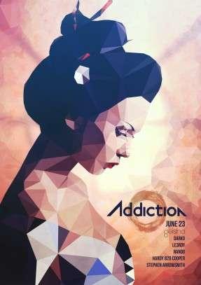 Addiction Geisha Low Poly Facebook