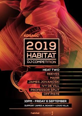 2019 Habitat Dj Competition_ HeatTwoPoster
